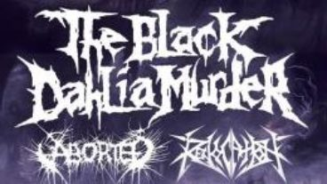 The Black Dahlia Murder und Aborted bringen den Death Metal nach Bochum, 18.09.2013