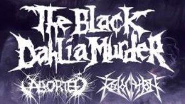 The Black Dahlia Murder und Aborted bringen den Death Metal nach Bochum, 18.09.2013 – Matrix Bochum