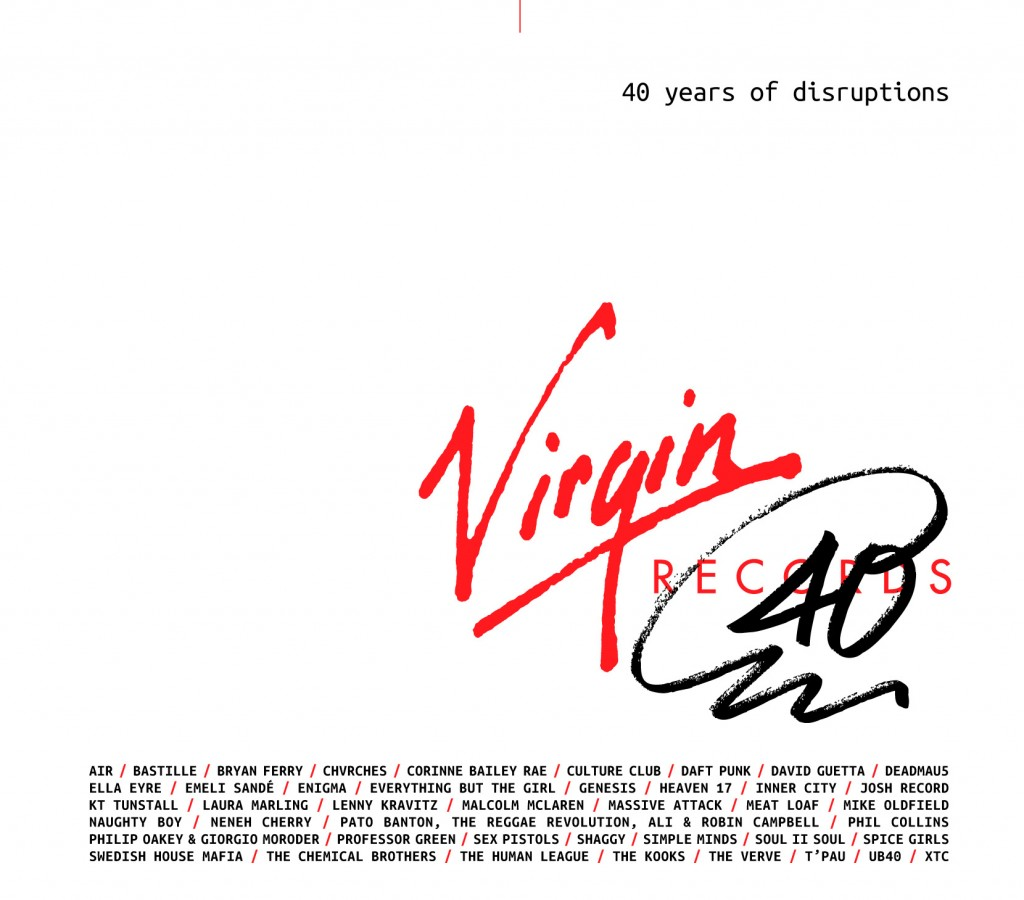 "Virgin Records feiern ""40 Years Of Disruptions"" mit 3 CDs"