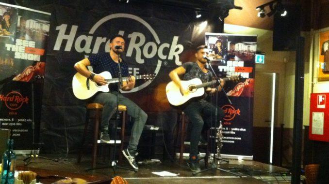 Lauter Leben Unplugged Am 19112013 Im Kölner Hard Rock Cafe