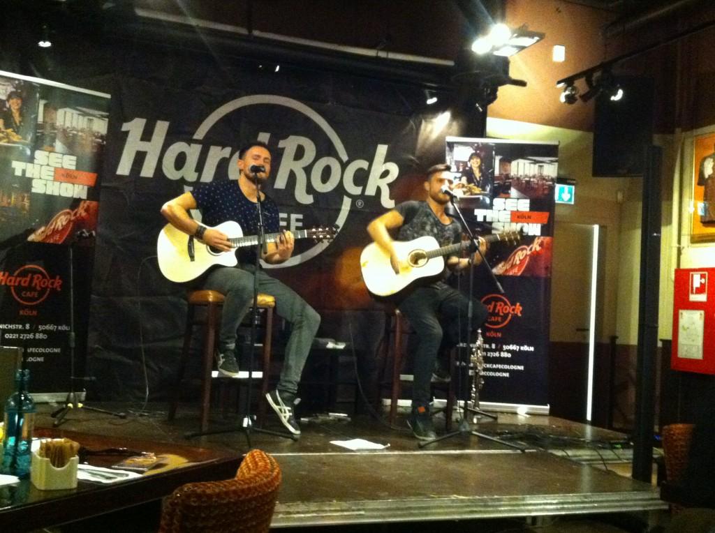 Lauter Leben Unplugged am 19.11.2013 im Kölner Hard Rock Cafe