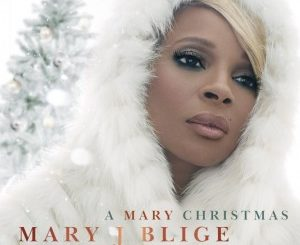 Mary J Blige A Mary Christmas CD Cover