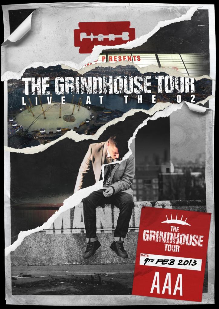 """Plan B und seine """"Grindhouse Tour"""" – ganz großes Kino in der O2 Arena, London"""