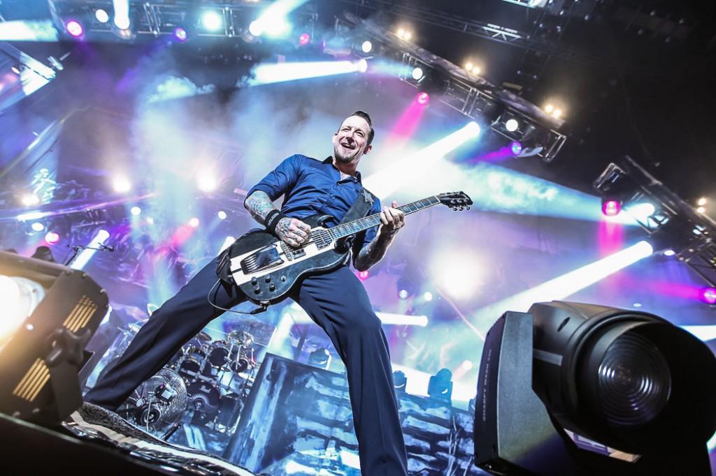 Volbeat Fotos am 12. November 2013 in der Lanxess Arena, Köln