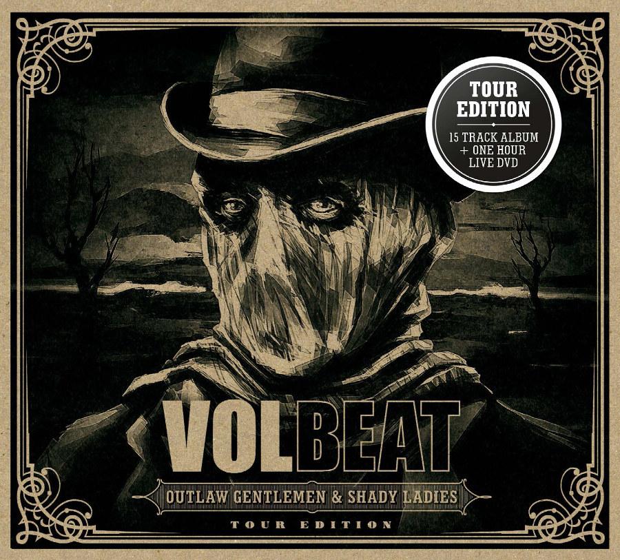 """Volbeat hauen ihr Album nochmal raus: """"Outlaw Gentleman & Shady Ladies"""" als """"Tour Edition"""" inklusive DVD"""