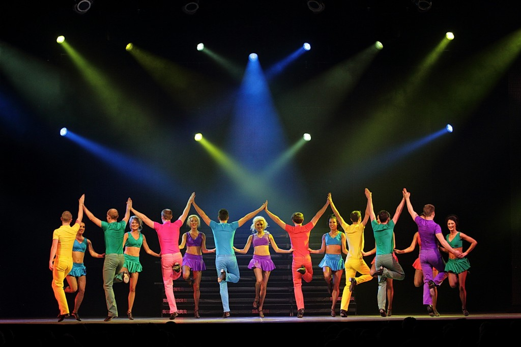 "Das Tanzspektakel ""Lord Of The Dance"" gastierte am 20.12.2013 in der Arena Trier"