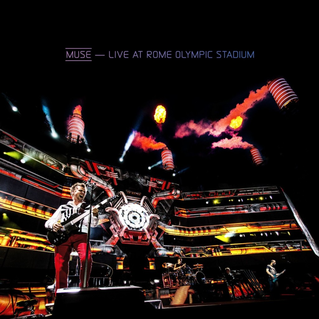"Muse – ""Live At Rome Olympic Stadium"": Das Spektakel auf CD, DVD, Blu-ray"