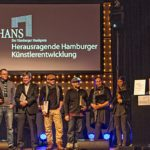 Axel Bosse & Team - Verleihung HANS Hamburger Musikpreis, 27.11.2013