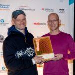 Christof Jessen, Andre Frahm von Michelle Records - Verleihung HANS Hamburger Musikpreis, 27.11.2013