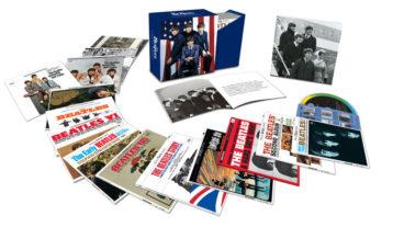 """Die Beatles zum 50. Jahrestag der US-Invasion mit ihrer Box """"The U.S. Albums"""""""