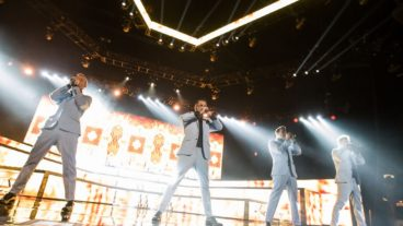 Backstreet Boys Fotos am 28.03.2014 im ISS Dome in Düsseldorf