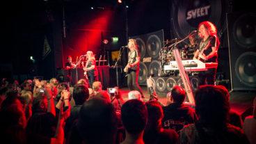 Sweet live in der Kulturfabrik Krefeld am 05.04.2014