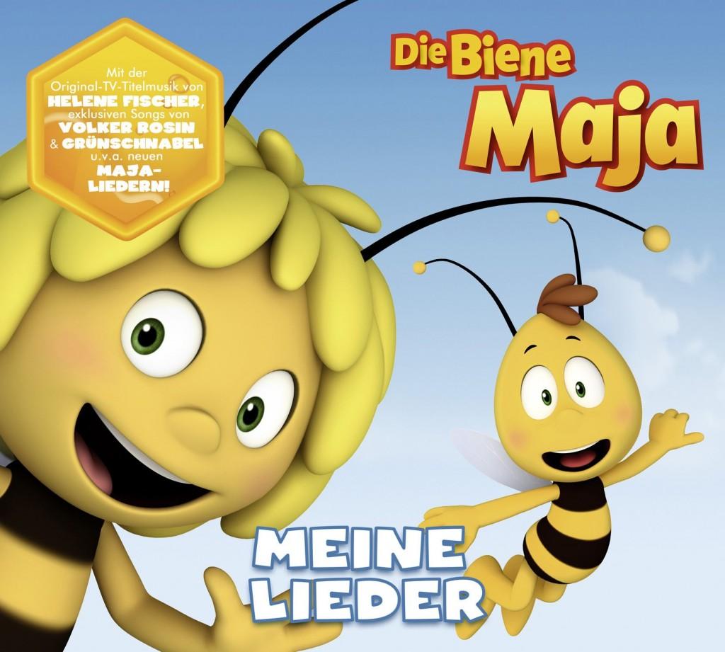 Songs zur neuen Biene-Maja-TV-Serie jetzt erstmals auf CD!