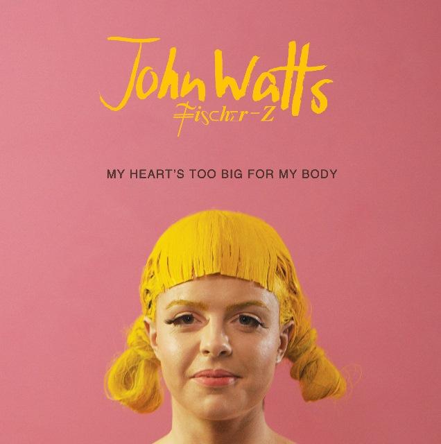 """Limitierte 10"""" Vinyl-EP von John Watts/Fischer-Z"""