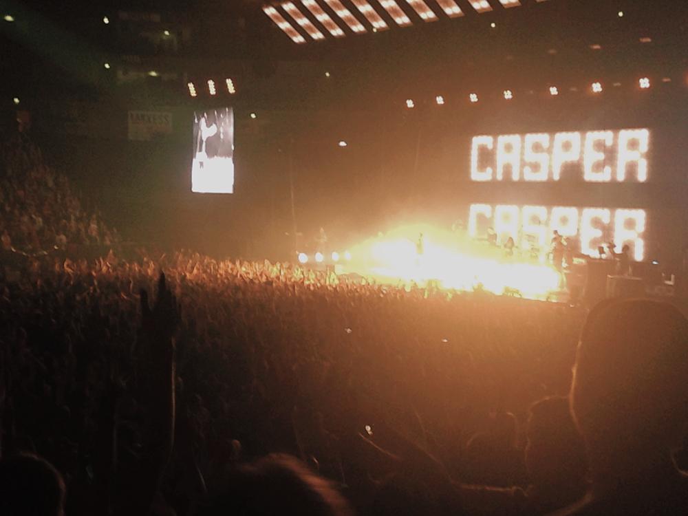 Casper in der Lanxess Arena vor fast 20.000 Leuten