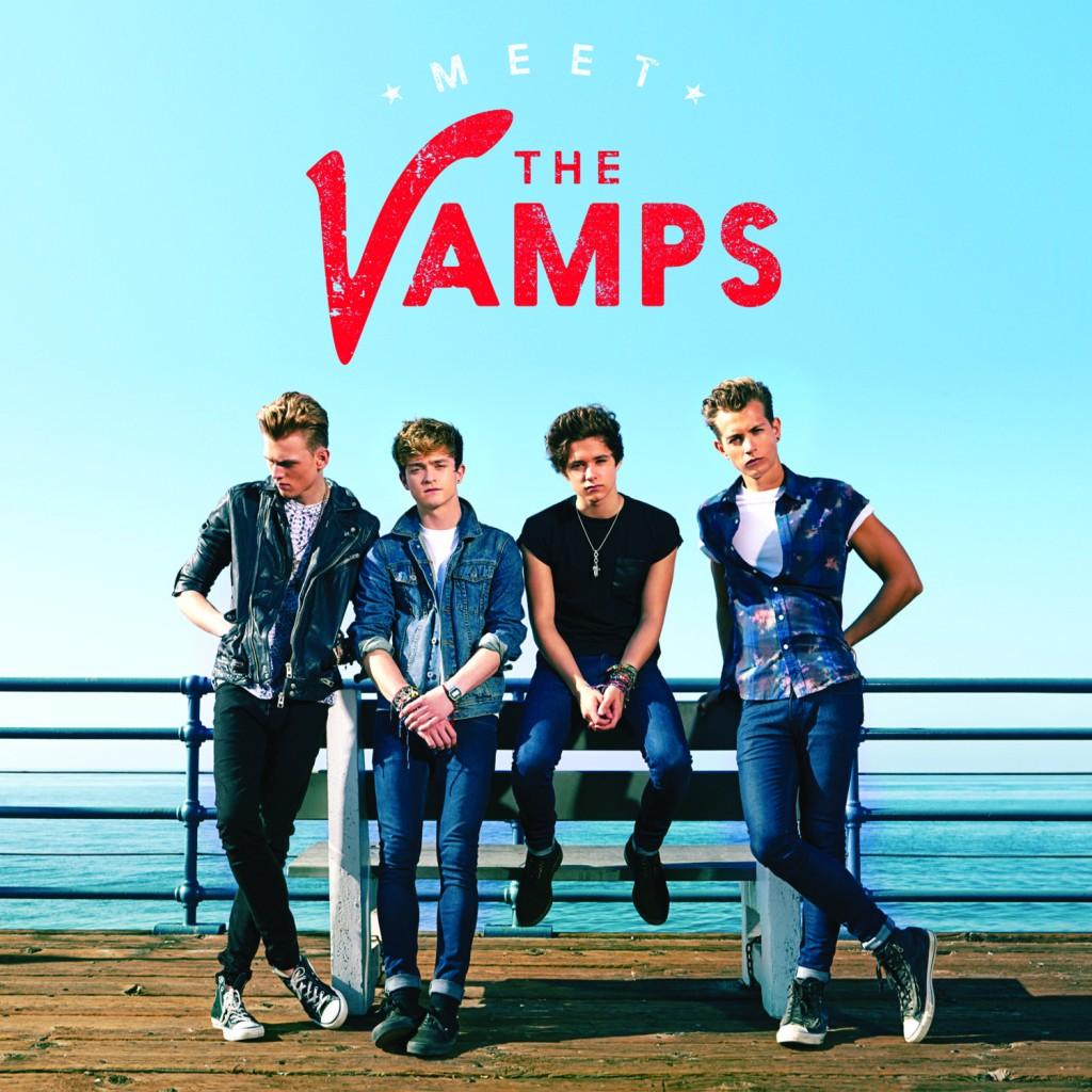 """The Vamps ziehen das britische Königreich in ihren Bann: Von 0 auf Platz 2 für """"Meet The Vamps"""""""