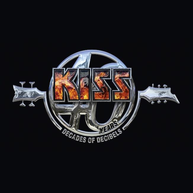 Kiss feiern 40jähriges mit der Kiss 40 Compilation
