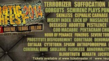 Ein grandioses Death Metal Festival, Neurotic Deathfest 2014 – Tilburg, Holland