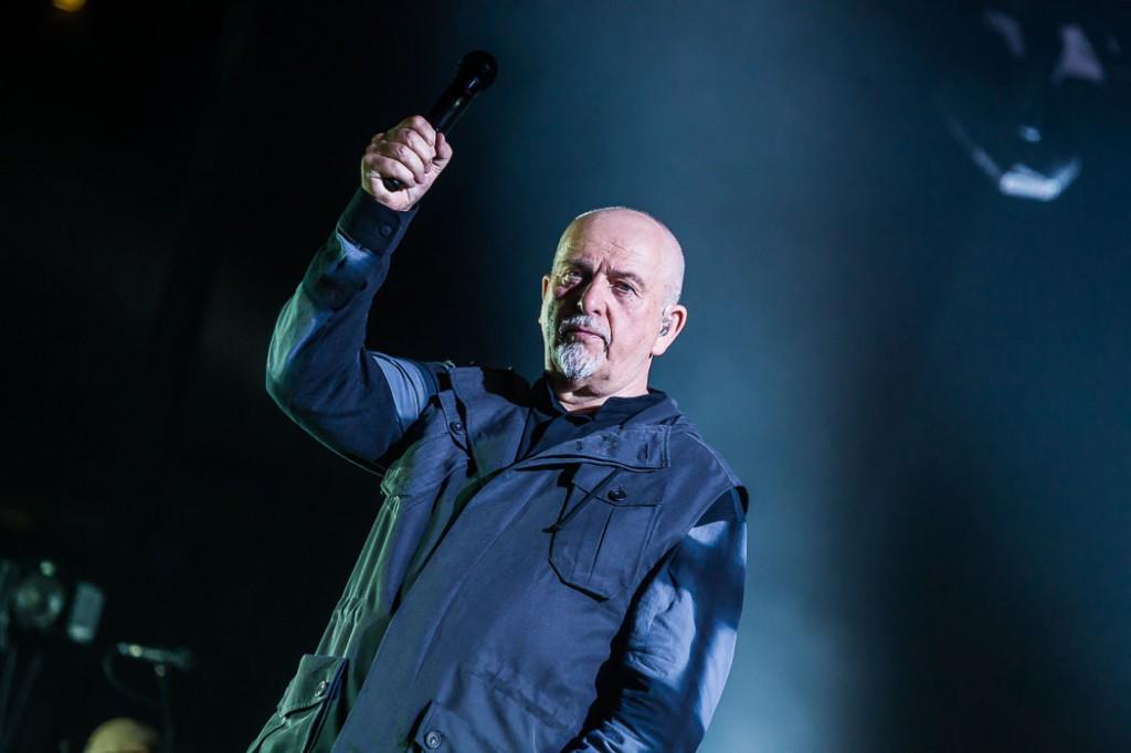 Peter Gabriel Fotos am 02.05.2014 in der Lanxess Arena in Köln