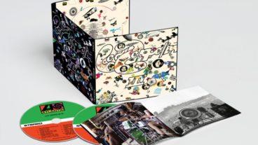 Led Zeppelin beginnen von vorn und veröffentlichen 1-3 als remasterte Deluxe Edition
