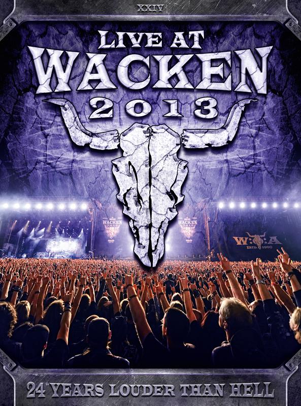 LIVE AT WACKEN 2013 als 3 DVD, 2 CD, BluRay und als Fotobuch inkl. Live CD