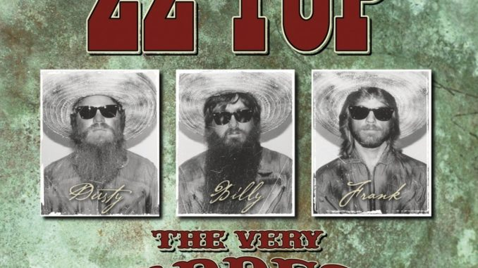 ZZ Top The Very Baddest Of CD Cover