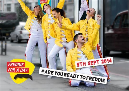 Freddie For A Day in den Hard Rock Cafes in Köln, München und Berlin