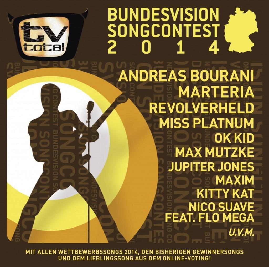 Bundesvision Song Contest 2014: Der Sampler zum TV-Ereignis