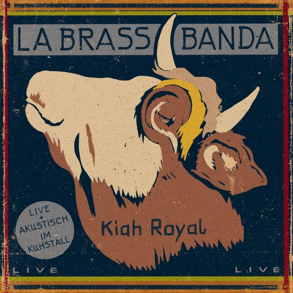 LaBrassBanda – Kiah Royal: Blasmusik und Chiemsee-Reggae für 85 vierbeinige Ladies
