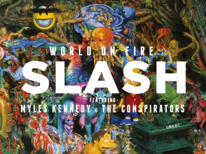 Slash Myles Kennedy The Conspirators World On Fire