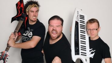 Laugh'n Roll mit The Axis Of Awesome am 09.09.2014 im Gloria Theater, Köln