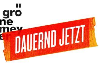Grönemeyer Dauernd Jetzt CD Cover