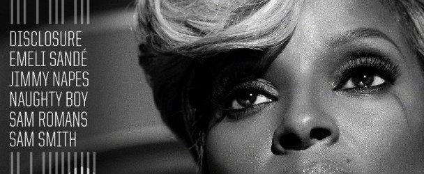 Mary J Blige The London Sessions CD Cover