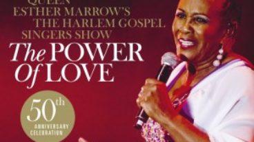 Queen Esther Marrow und The Harlem Gospel Singers mit einer zugleich liebevollen und energischen Gesangsdarbietung: The Power Of Love!