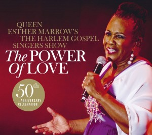 Queen Esther Marrow and The Harlem Gospel Singers The Power Of Love CD Cover