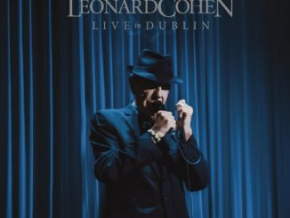 Leonard Cohen Live In Dublin CD DVD Cover