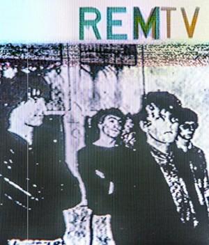 REM REMTV DVD Cover