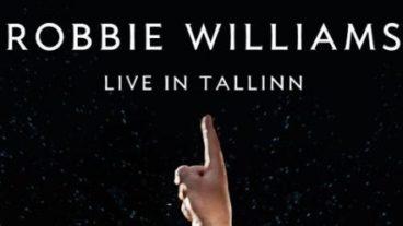 Robbie Williams live in der estnischen Hauptstadt Tallinn