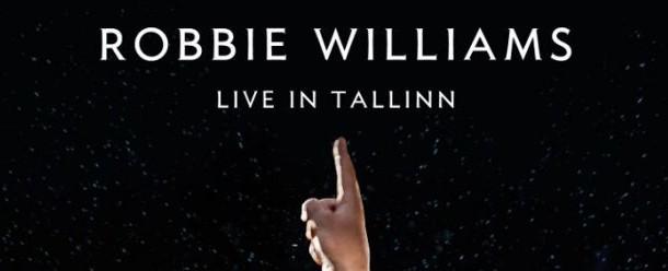Robbie Williams Live In Tallinn 2013 DVD Cover
