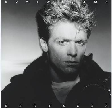 Bryan Adams Reckless Remaster CD Cover
