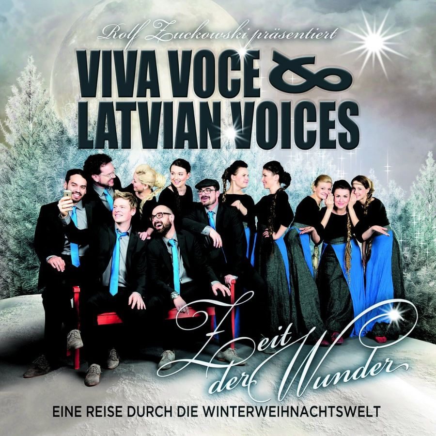 """Viva Voce und Latvian Voices : Zwölf magische Stimmen entführen in eine """"Zeit der Wunder"""""""