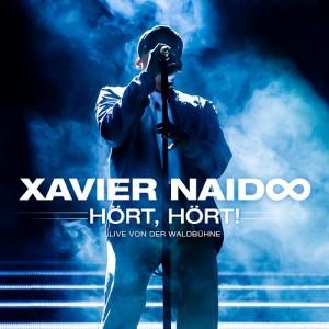 Xavier Naidoo Hört, hört! Waldbühne Berlin CD Cover