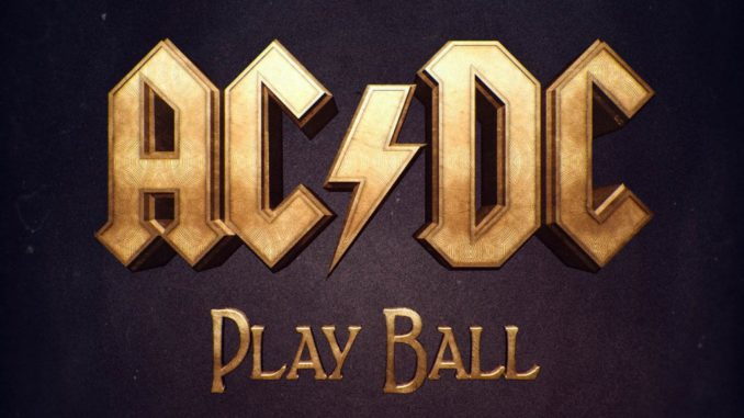 AC/DC Play Ball Cover
