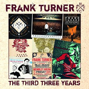 Frank Turner The Third Three Years CD Cover