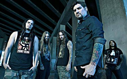 Suicide Silence Bandfoto