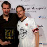 Markus Wiebusch & Oke Göttlich, HANS Hamburger Musikpreis Verleihung, 26.11.2014, Markthalle Hamburg