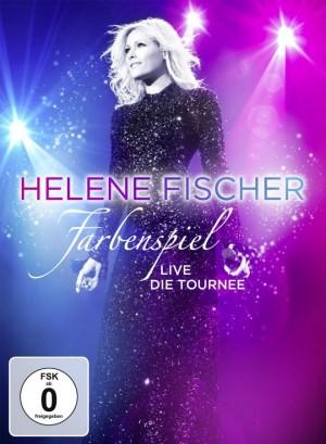 """Helene Fischer fliegt auf ihrem Paradiesvogel durch Hamburg: """"Farbenspiel live"""""""