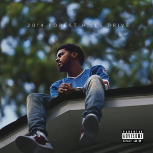J. Cole 2014 Forest Hills Drive CD Cover