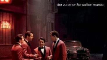 Clint Eastwood Jersey Boys DVD Cover