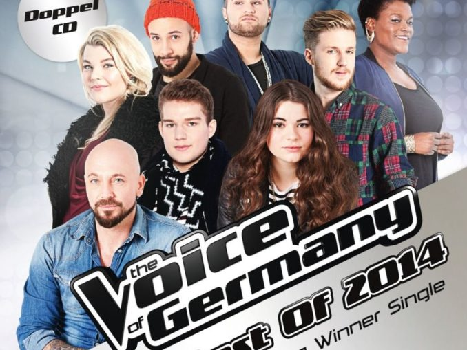TVOG The Voice Of Germany Best Of 2014 CD Cover